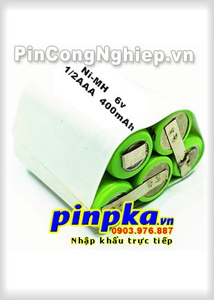 Pin máy chích điện, roi điện để tự vệ Ni-MH 6v 1/2AAAx5 400mAh